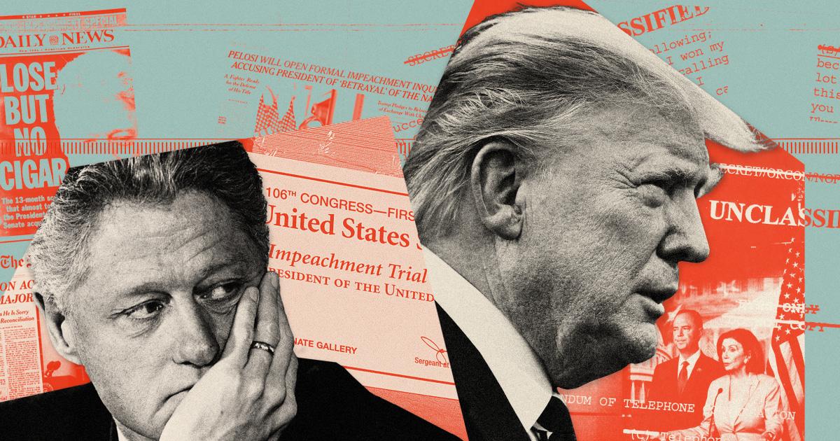 Trump chucks Clinton's impeachment playbook thumbnail