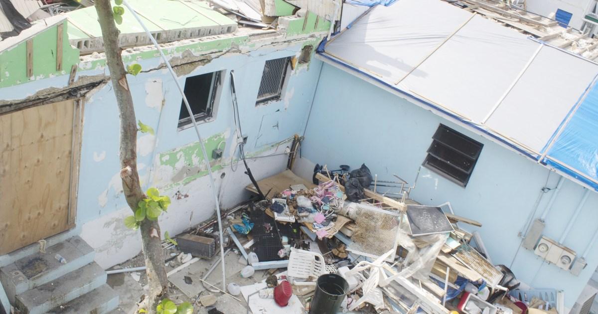 Δύο μήνες μετά Ντόριαν, συντρίμμια θέτει κρίσιμα για την υγεία κίνδυνοι για Bahamians