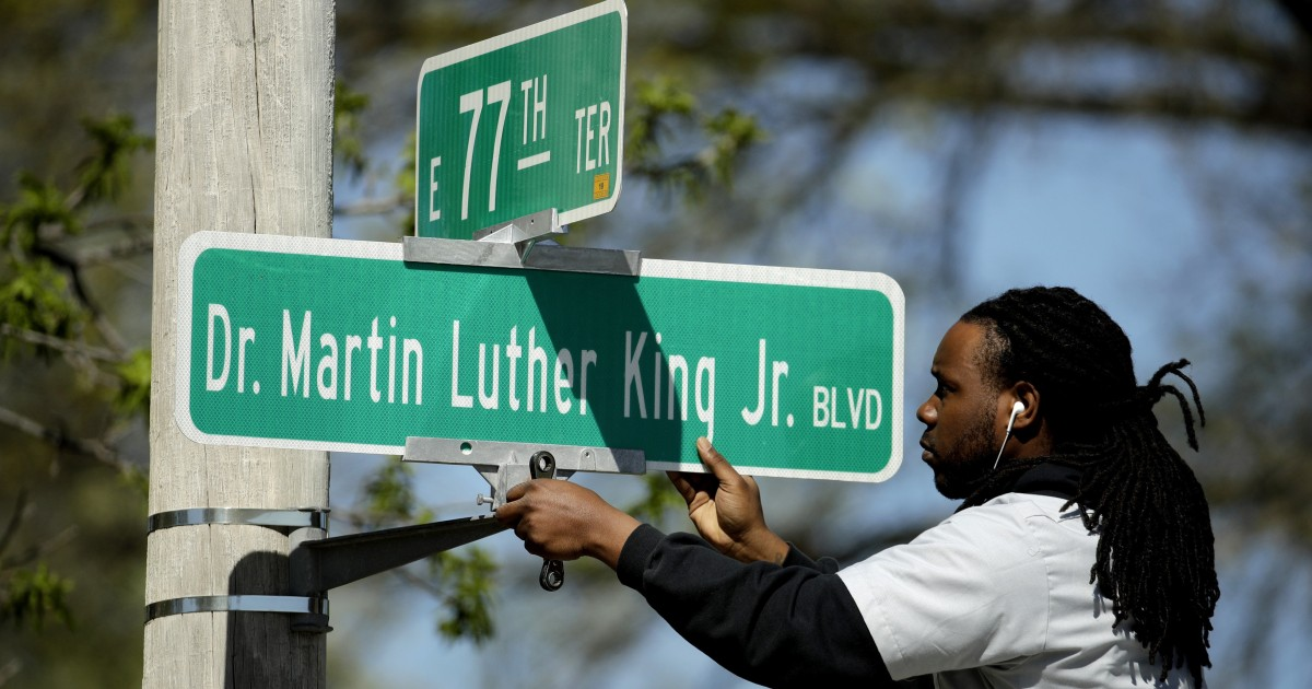 Kansas City votes to remove Martin Luther King's name from historic street - NBC News