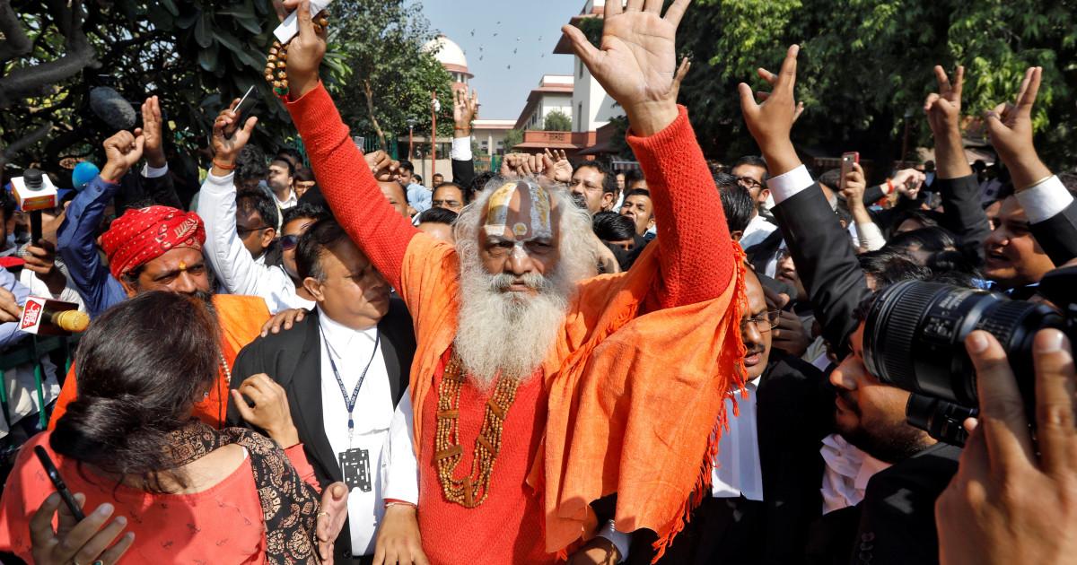 Ινδικό δικαστήριο αποφασίζει υπέρ της Ινδουιστικό ναό σε αμφισβητούμενες εκτάσεις