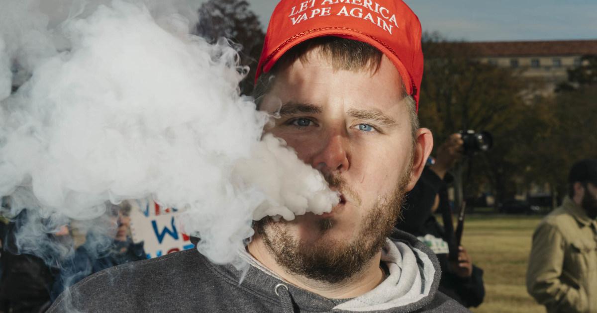 Könnte Trump ' s re-election gehen in einer Rauchwolke? Vapers sagen, watch out.