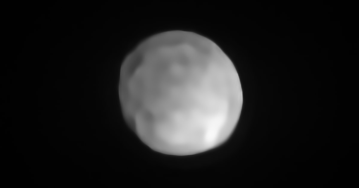 Είναι αυτόν τον αστεροειδή τον μικρότερο πλανήτη; Μερικοί αστρονόμοι νομίζω.