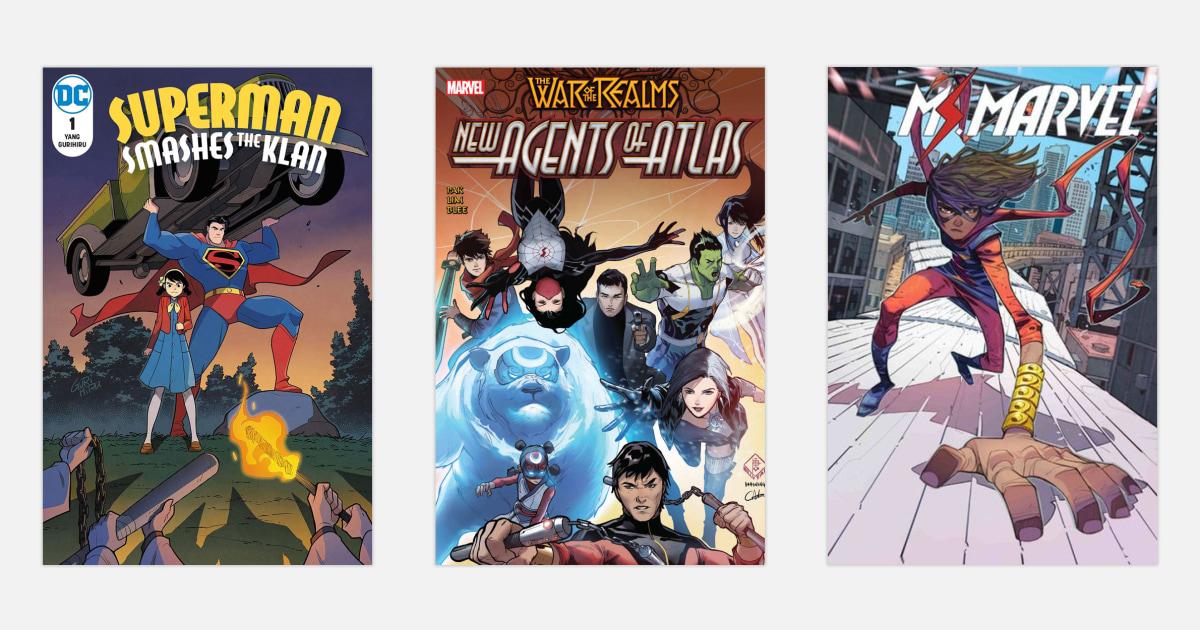 5 comic-Bücher, die behandeln, Asian American Darstellung gut