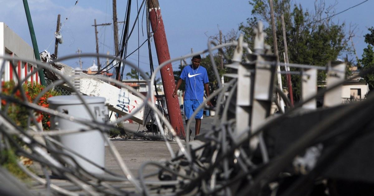 Puerto Rico-Infrastruktur, erhält eine in der Nähe-schlechte Note im neuen Bericht