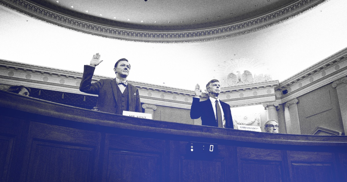 5 things we learned from George Kent and Bill Taylor's impeachment testimony thumbnail
