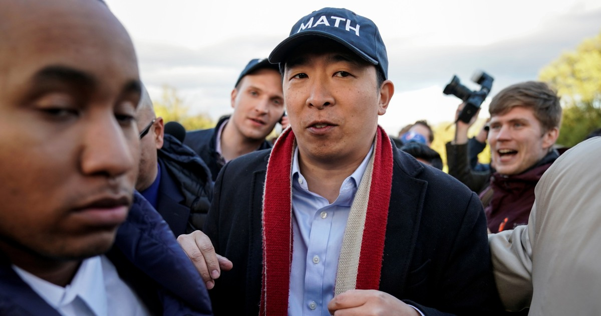 www.nbcnews.com: Is Andrew Yang 'reclaiming' stereotypes with Asian jokes? Experts say not so much.
