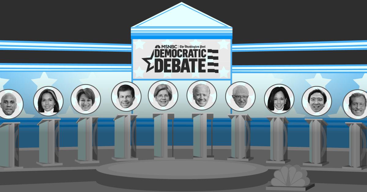 Die Bühne ist gesetzt: Was Sie wissen müssen über die Kandidaten in der Mittwoch-Debatte