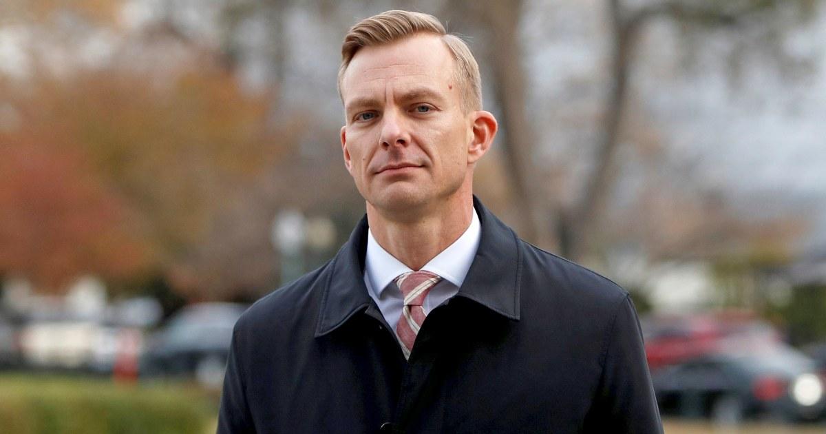 State Dept. επίσημη μαρτυρεί άκουσε Ατού ζητήσει Sondland για έρευνες