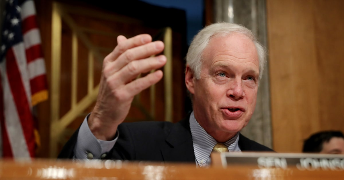 GOP senator says whistleblower's sources 'exposed things that didn't need to be exposed'