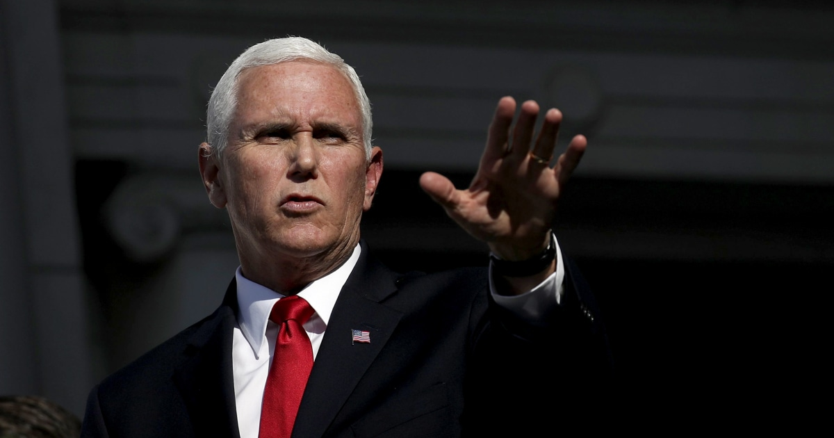 Trump attacks Pence aide who said Ukraine call was 'unusual and inappropriate'
