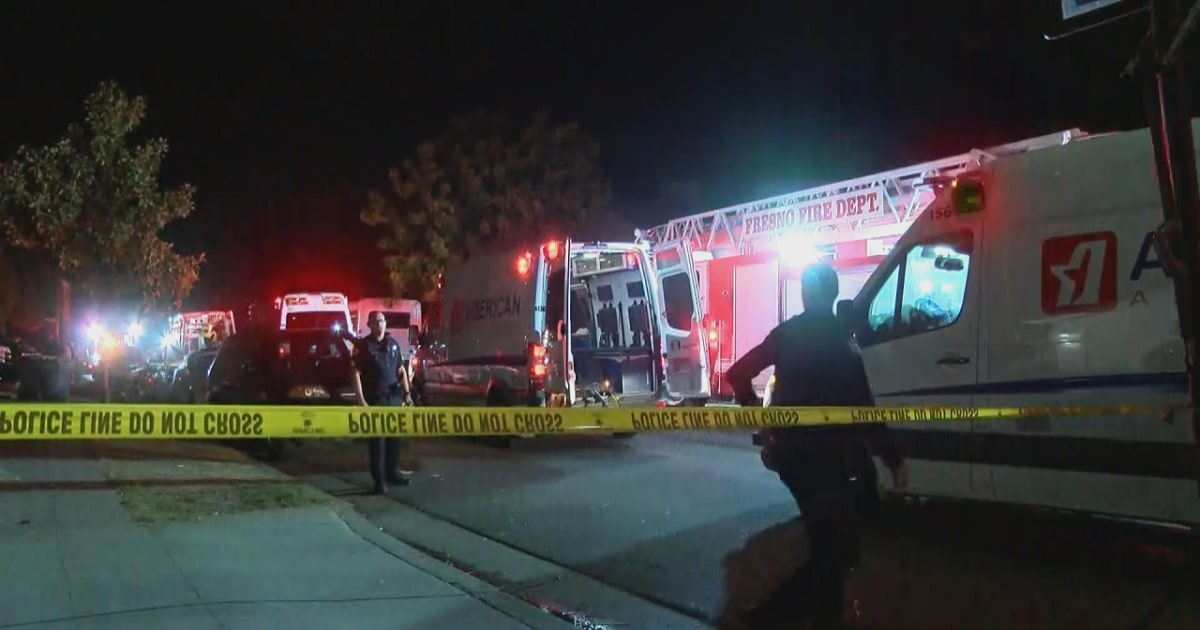 10 shot, four killed at family gathering in Fresno, California - NBC News