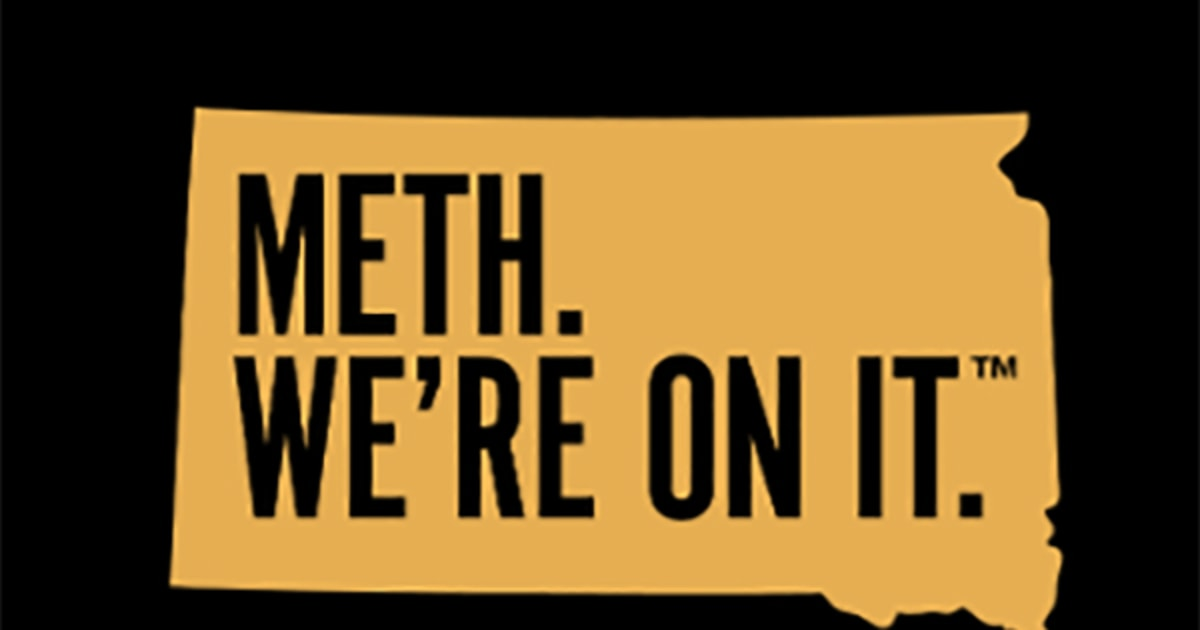 South Dakota: 'Meth. We're on it' — and we're sticking with anti-drug slogan