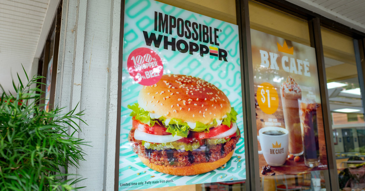 Vegan man claims Burger King's Impossible Whoppers tainted by meat