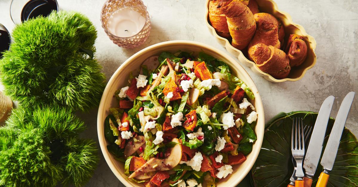 Μια σαλάτα που θα έχετε την οικογένειά σας, ζητώντας δευτερόλεπτα