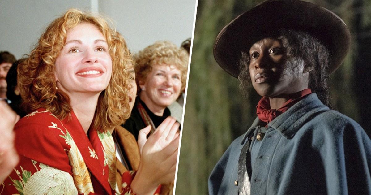 Η τζούλια Ρόμπερτς καθώς η Χάριετ Τάμπμαν είναι ακραία ωραιοποιεί, αλλά δεν είναι ασυνήθιστο