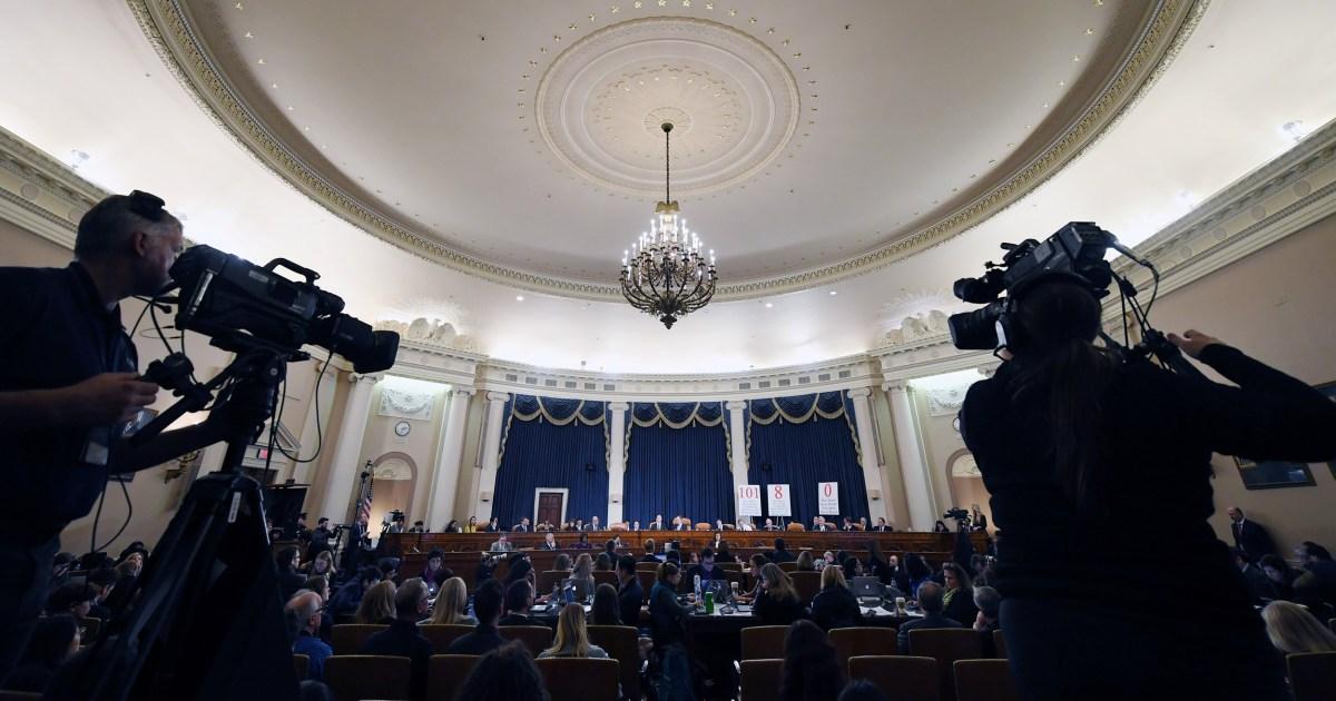 Anhörungen, den letzten Schliff auf Dems' Amtsenthebung Geschichte