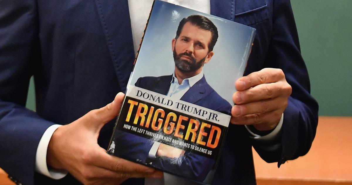 Warum Trump Jr, der umstrittene bestseller 'Ausgelöst' löste literarische Auseinandersetzung