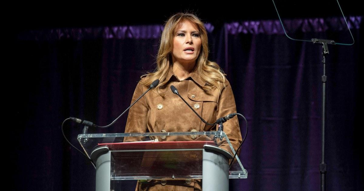 Melania Trump ausgepfiffen, im 'Besten' Fall in Baltimore