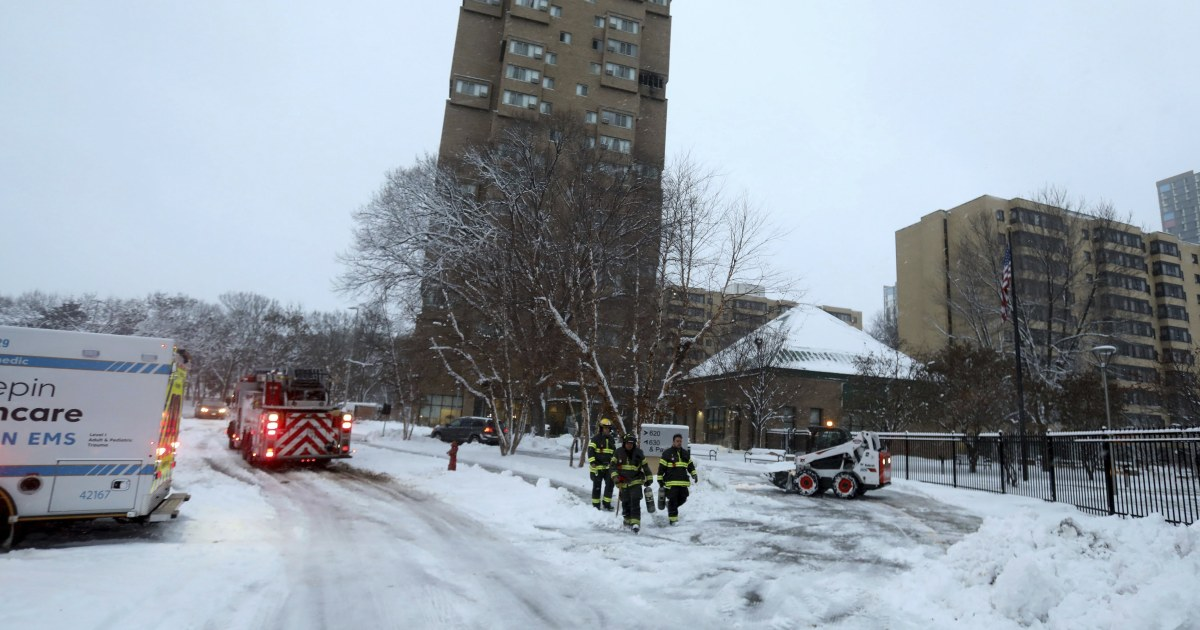 5 dead, 4 injured in Minneapolis high-rise fire