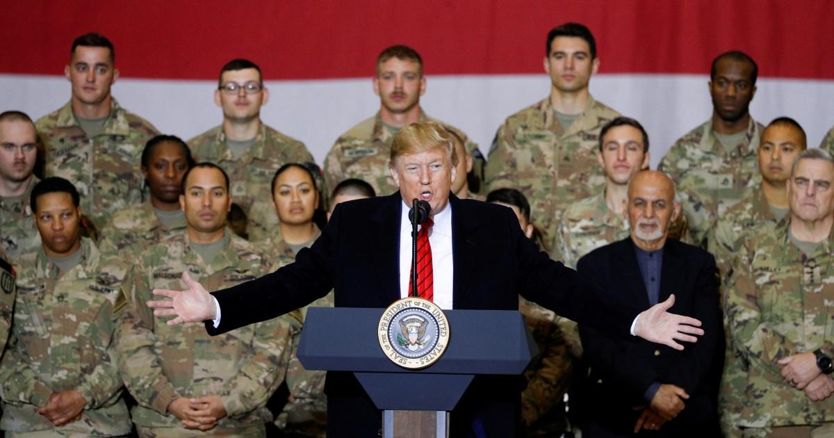 Τραμπ Ταλιμπάν συνομιλιών, μήνες, μετά την κήρυξη τους