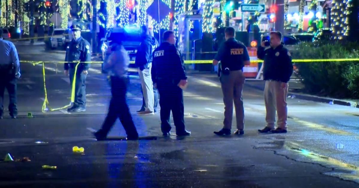 11人でショットニューオーリンズの警察と言う
