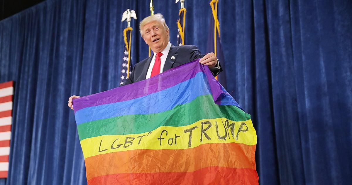 Trump trend: LGBTQ erwähnt ruhig gestrichen von Diskriminierung-Richtlinien