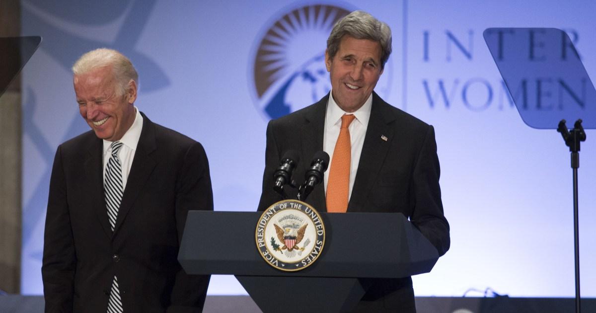 ケリーを守Bidenにイラク戦争というブッシュ政破しそう