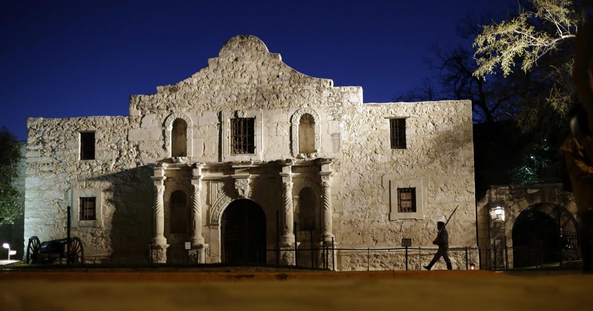 Überreste von 3 Personen entdeckt, die an der Alamo während der Renovierungsarbeiten