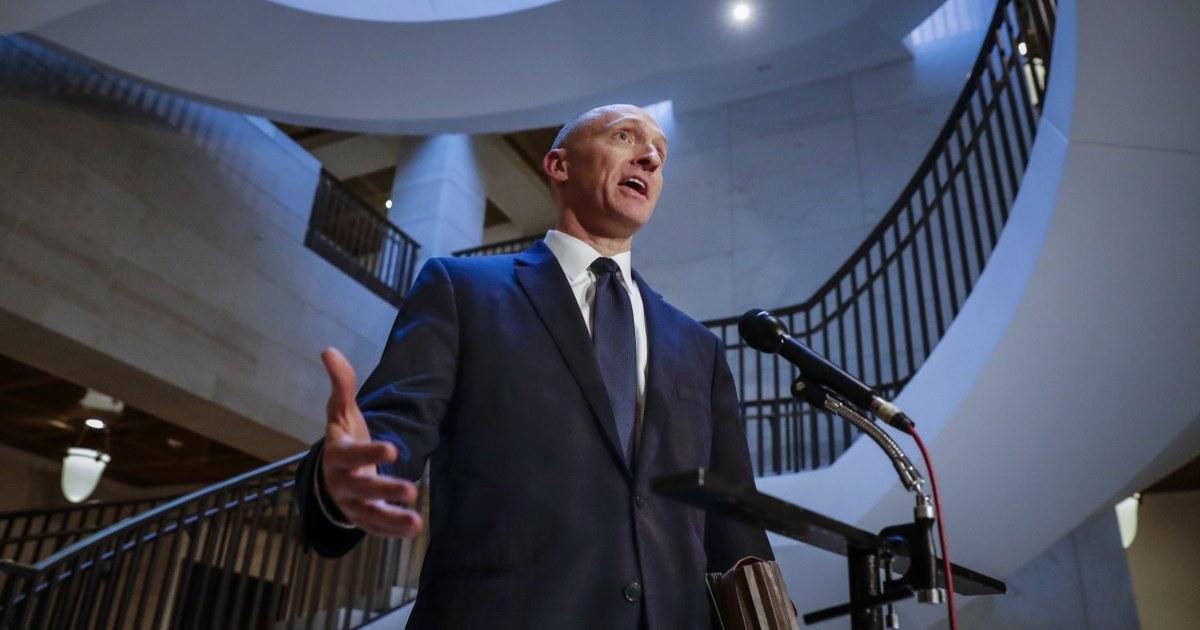 Zwei der 4 Optionsscheine lassen, FBI, ausspionieren, ex-Trumpf-aide Carter-Seite waren nicht gültig ist, sagt DOJ