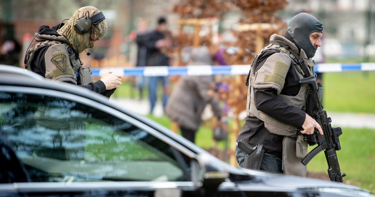 Vermute, schießt 6 tote in der Tschechischen Krankenhaus, dann tötet selbst