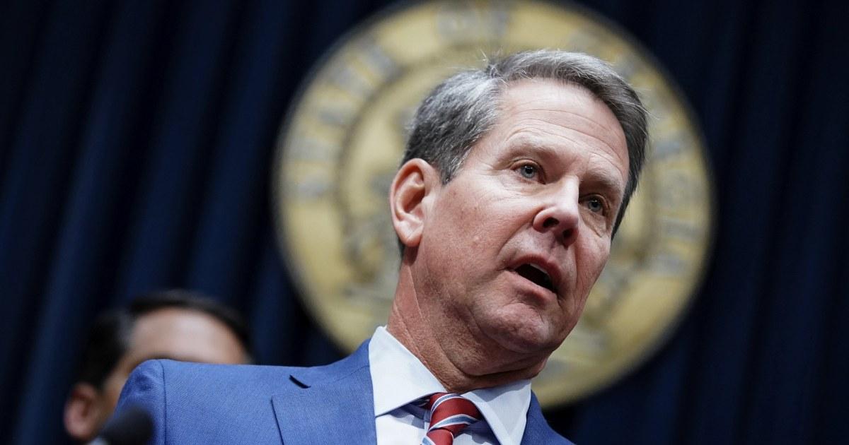 Georgia Gov. Brian Kemp bestellt, um Fragen zu beantworten, die in Wahl-Klage