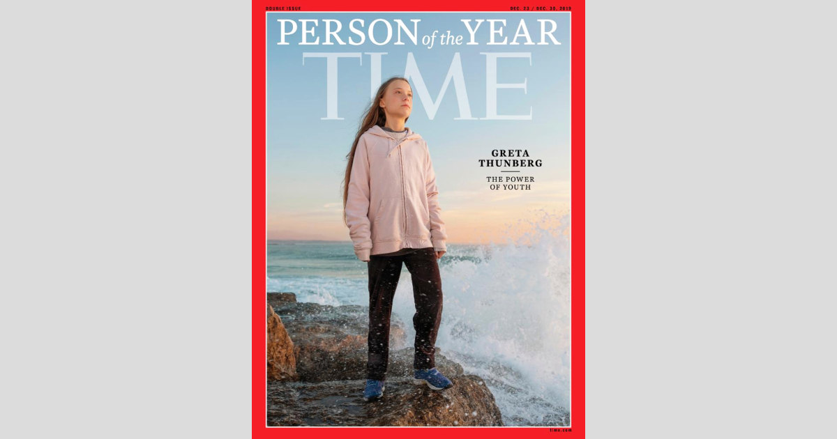 Current Status: Teen climate activist Greta Thunberg is Time's 2019 Person of the Year