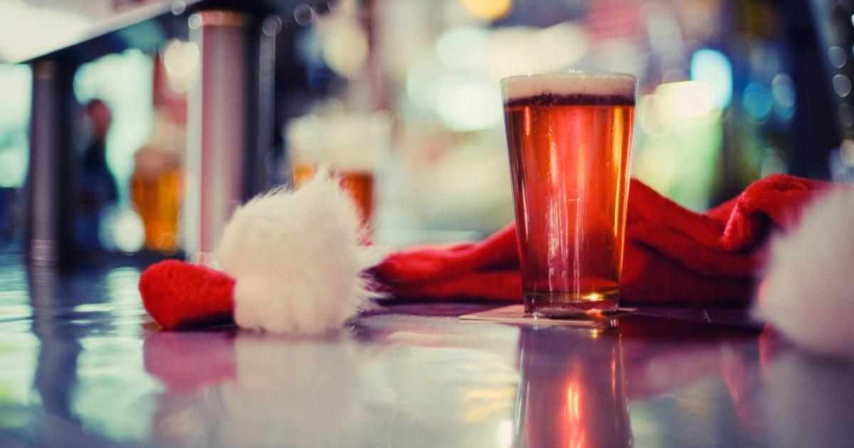 トーストクリスマスシーズンにこれらの低アルコール飲料アイデア