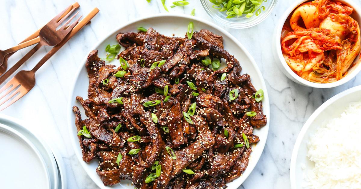Ναι, μπορείτε να κάνετε το αγαπημένο σας κορεάτικο φαγητό πιάτα στο σπίτι. Εδώ είναι το πώς