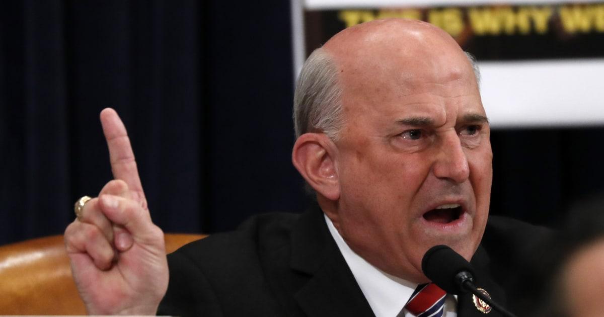 GOP Rep. Gohmert öffentlich Namen der person, die einige Republikaner sagen, ist whistleblower