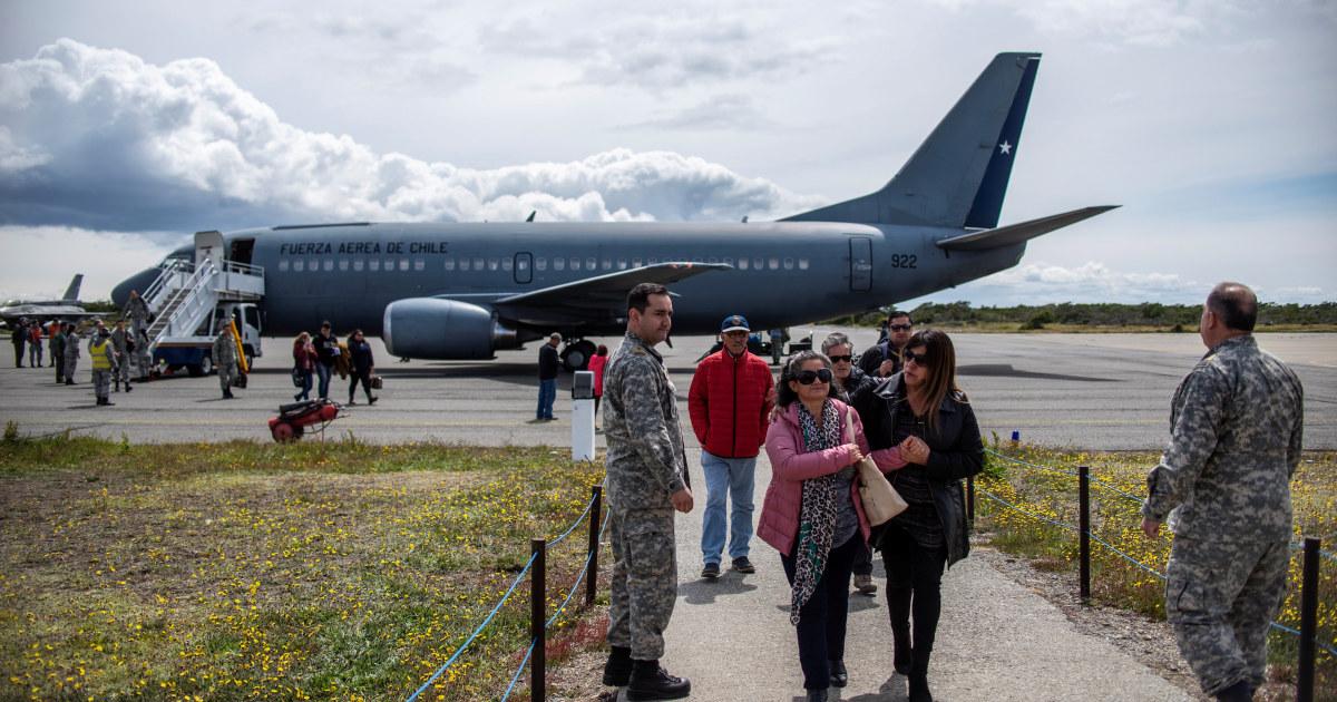 チリ空軍がデブリと考えられるから抜け面の