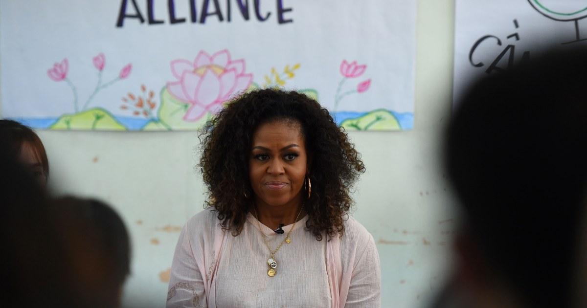 Η μισέλ Ομπάμα λέει η Γκρέτα Thunberg να