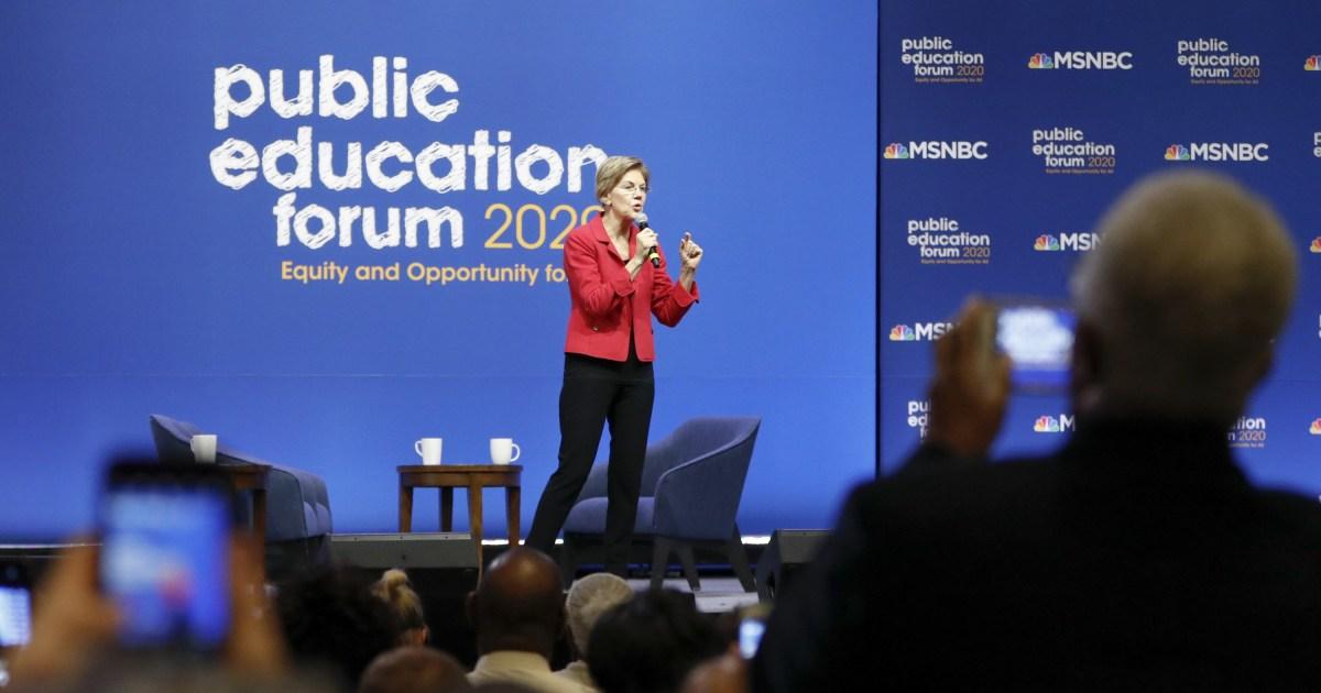 Επτά υποψήφιοι. Ένα Θέμα. Εδώ είναι ό, τι Δημοκρατικός προεδρικοί υποψήφιοι είχε να πει σχετικά με την εκπαίδευση.