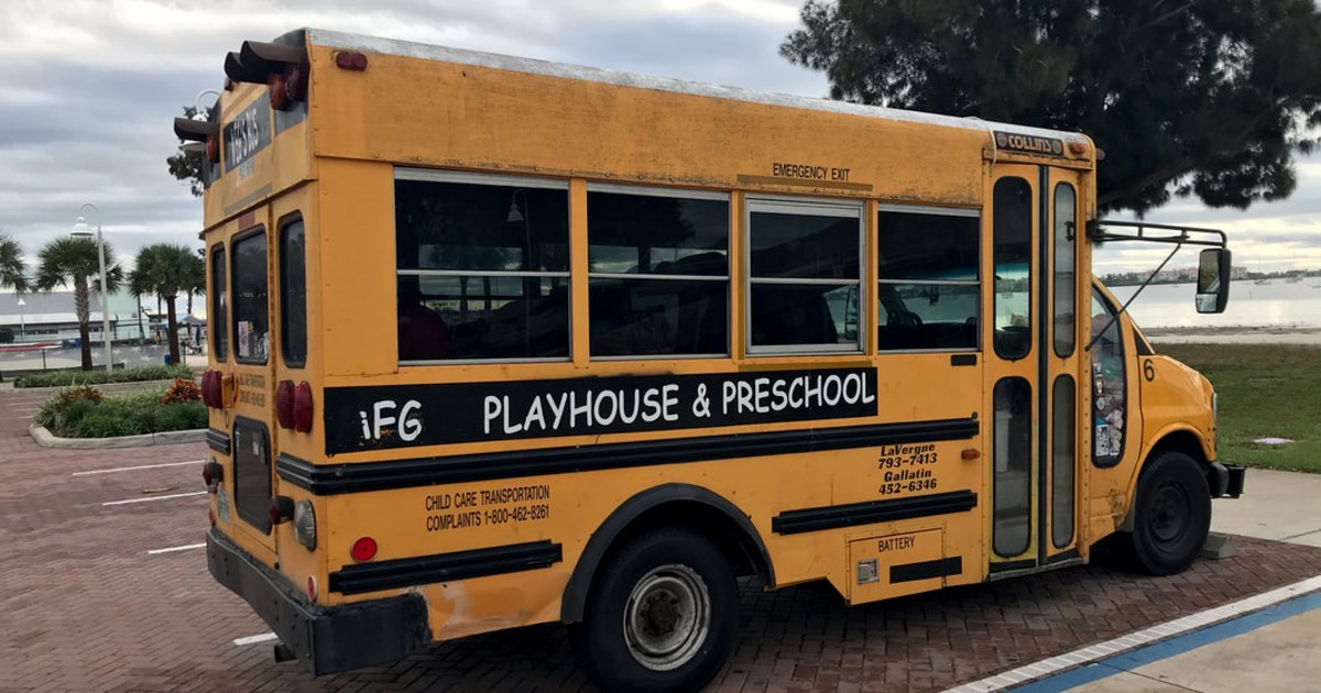 Woman in Florida charged with leaving three kids in bus overnight to smoke pot on boat