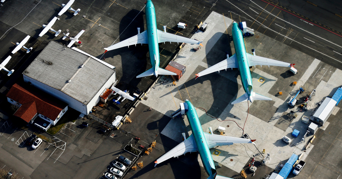Boeing να αναστείλει την παραγωγή του 737 Max αεροπλάνο επόμενο μήνα