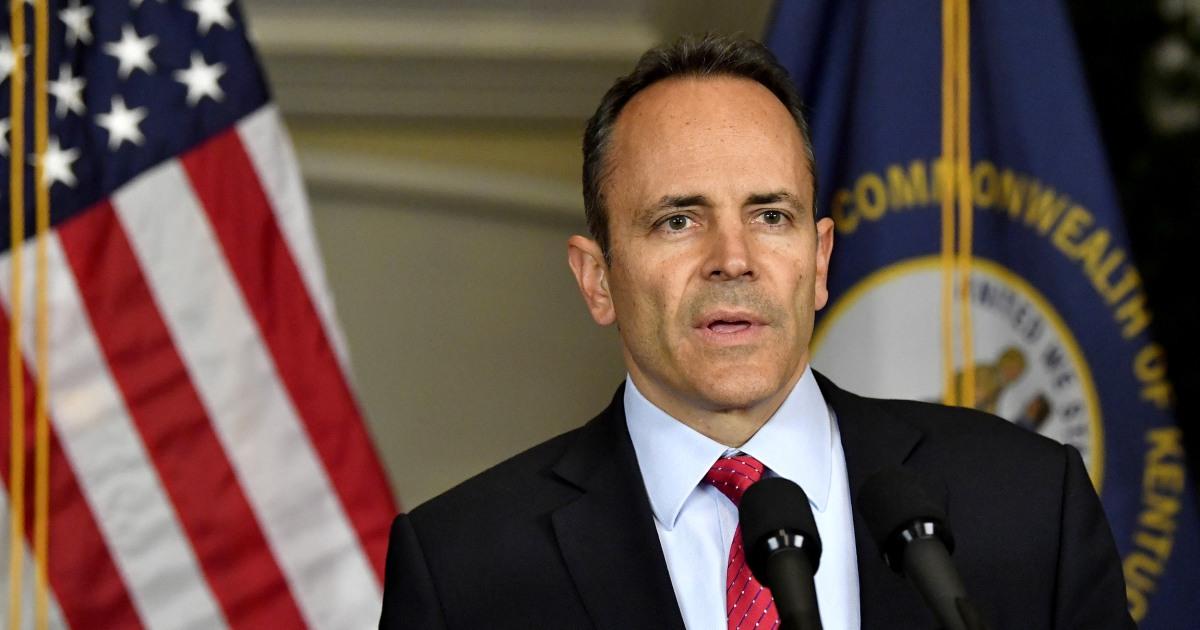 Kentucky AG bittet FBI-Sonde ehemaligen Gov. Matt Bevin ' s Schuld