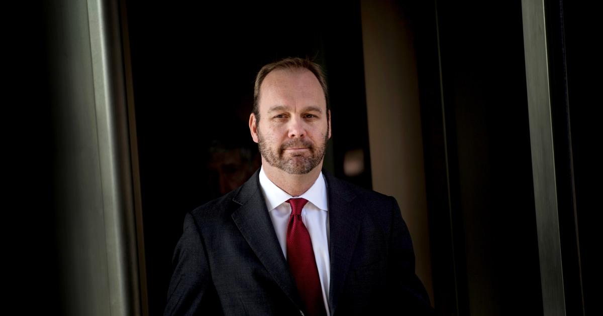 Ρικ Γκέιτς, πρώην Ατού εκστρατεία επίσημη και Manafort συνεργάτης σας, για να καταδικαστεί τρίτη