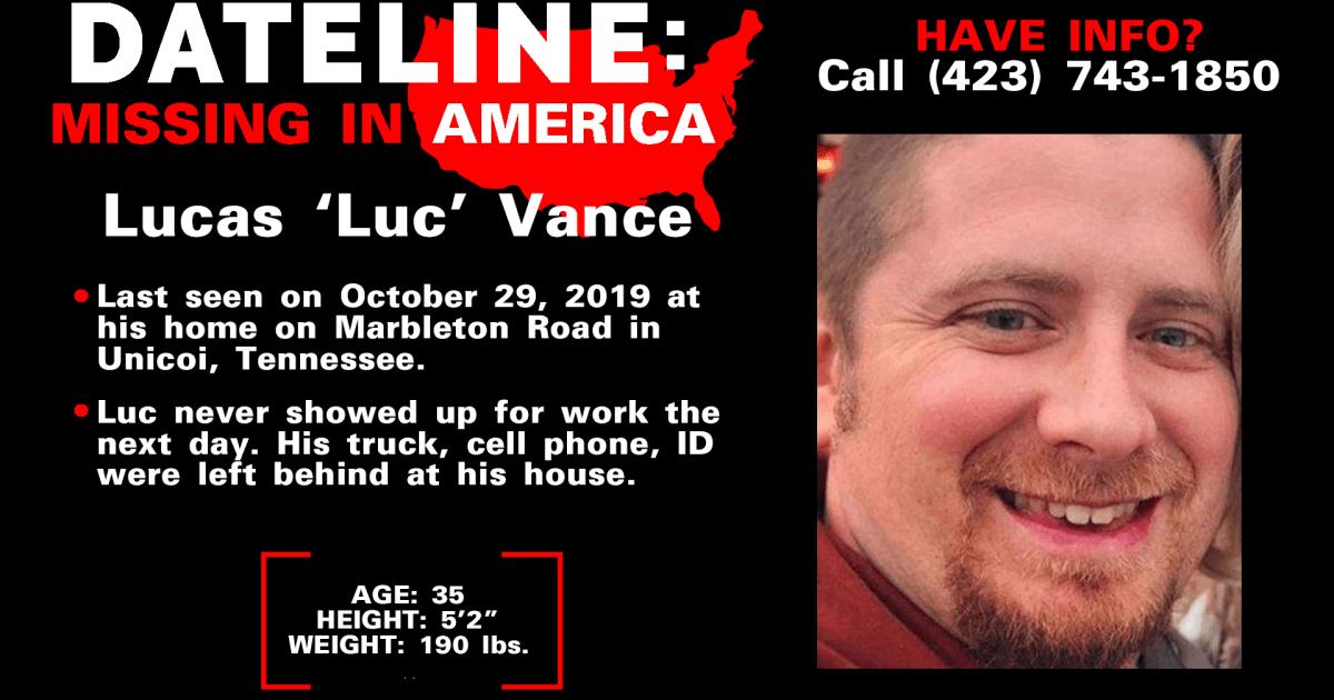 テネシー州人の失踪から謎の二か月後に消えた