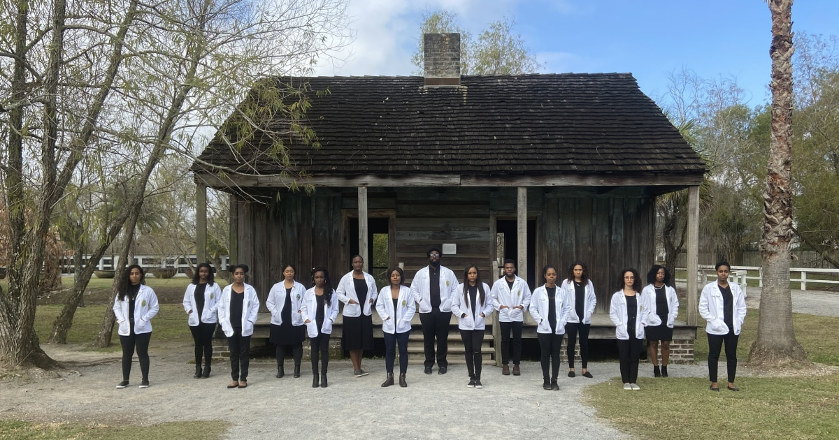 <b>Med students send message with plantation photo: We are our ancestors' wildest dreams </b>