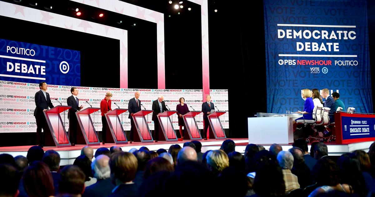 DNC wirft Qualifikation Schwellenwerte wieder für die Januar-Debatte