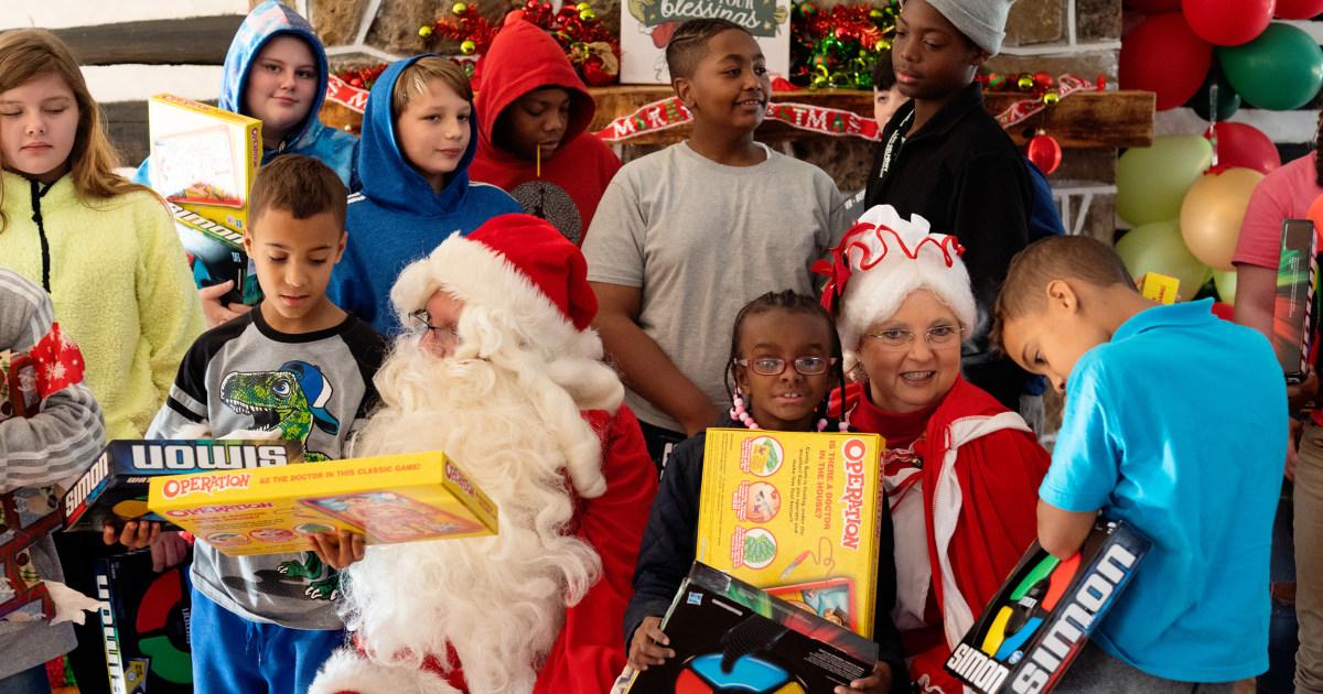 Ein weiteres grim Weihnachten Webstühle für die 'betrogen' children of Virginia W.