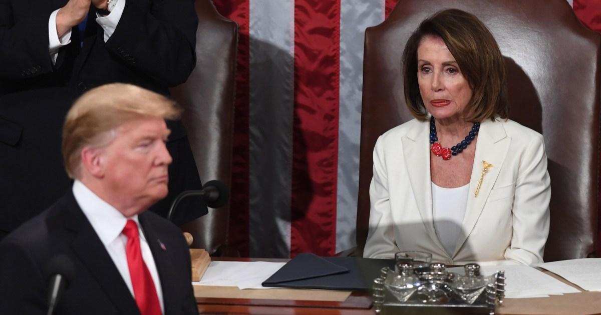 Pelosi fordert Trump zu liefern, die State of the Union-zwei Tage nach der Amtsenthebung ihn