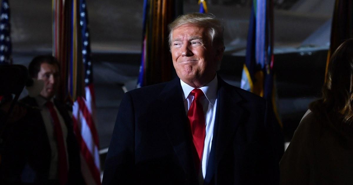 Trump Zeichen-Ausgaben-Rechnungen, Vermeidung von Regierung shutdown