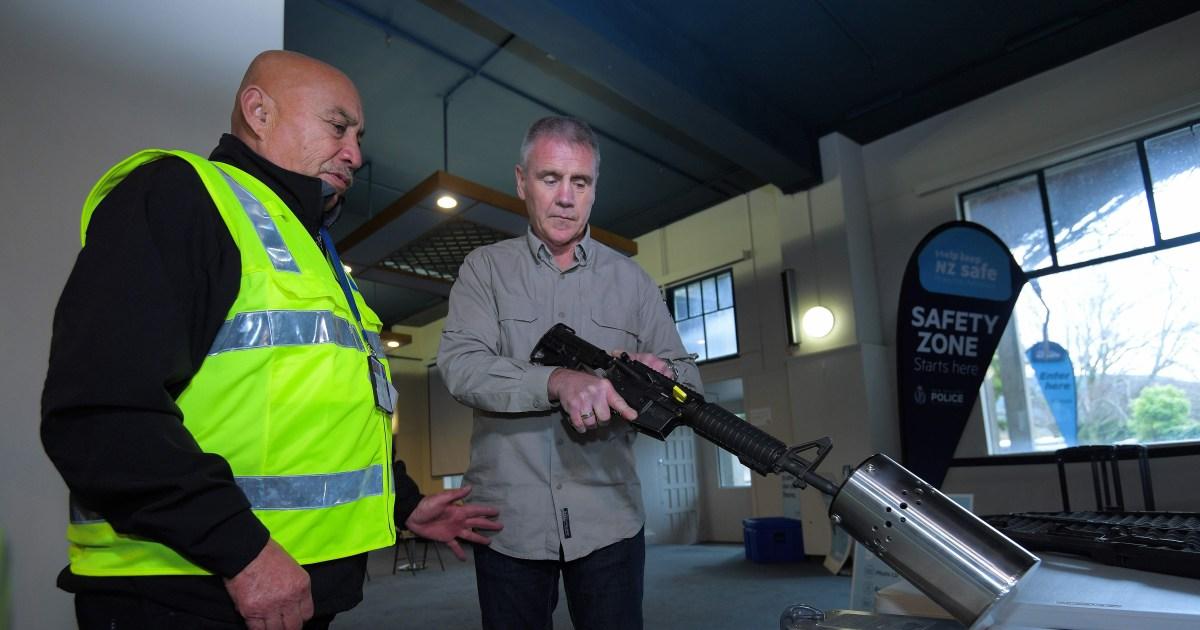 Neuseeländer hand in 50.000 Gewehre nach der assault weapon ban
