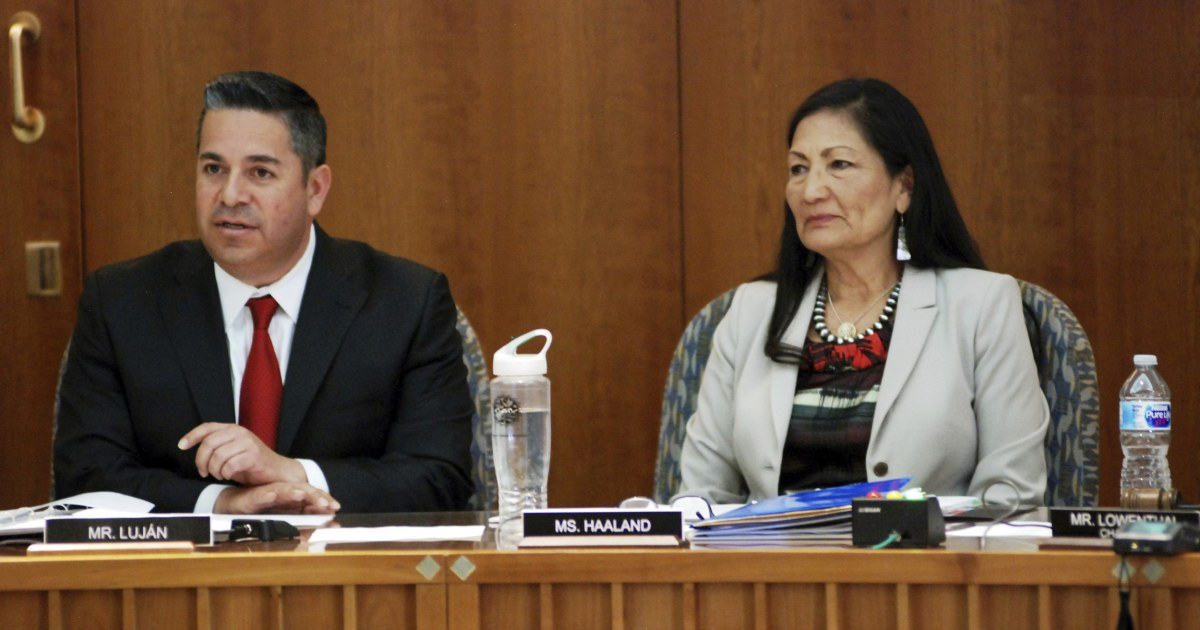 Νέο Μεξικό ΔΑΠ αντλεί θερμότητα για 'χροιά' παρατήρηση για Dems